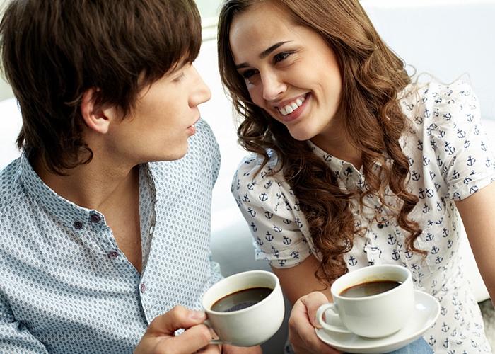 Resultado de imagen para tomar cafe en pareja